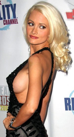 Holly Madison shaved pussy