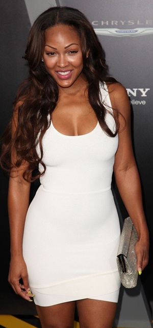 How much does meagan good weigh