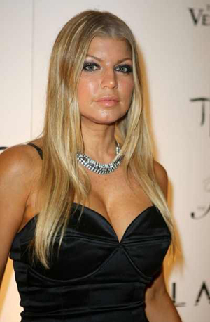 Fergie Duhamel Blonde and Hot