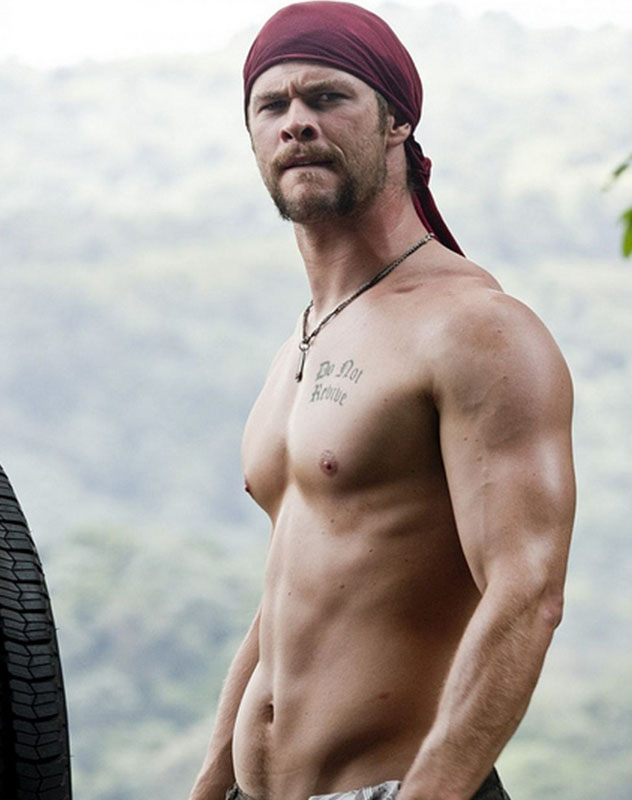 Chris Hemsworth Workout Routine for The Movie Thor