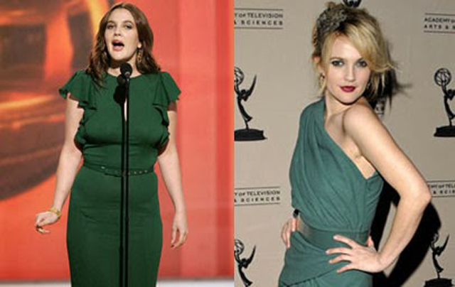 Drew Barrymore Breast Reduction Plastic Surgery Before and After