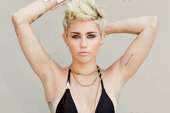 Miley Cyrus Beauty Routine