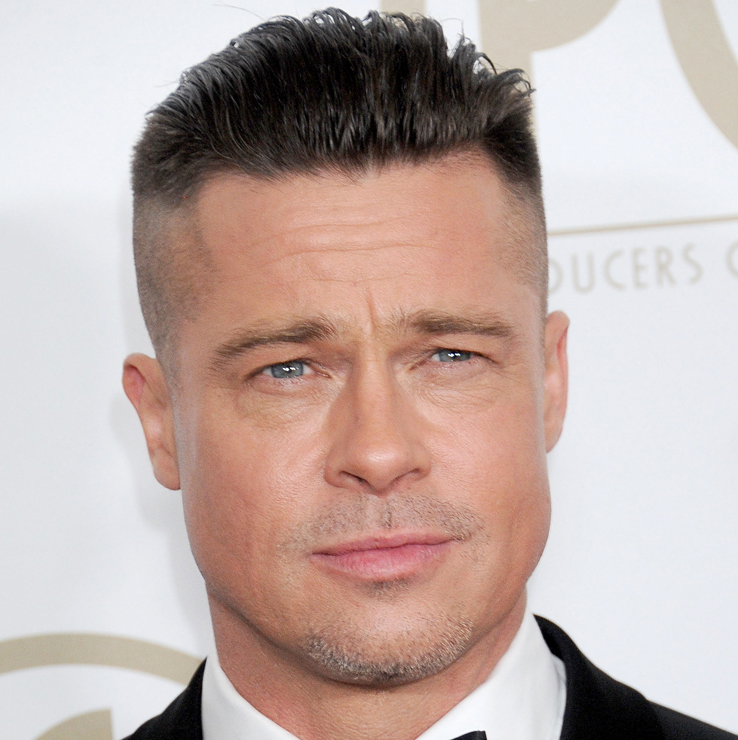 Brad Pitt Facelift Plastic Surgery Before and After | Celebie