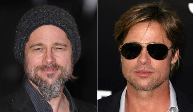 Brad Pitt Facelift Plastic Surgery Before and After