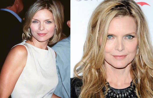 Michelle Pfeiffer Facelift Plastic Surgery Before and After