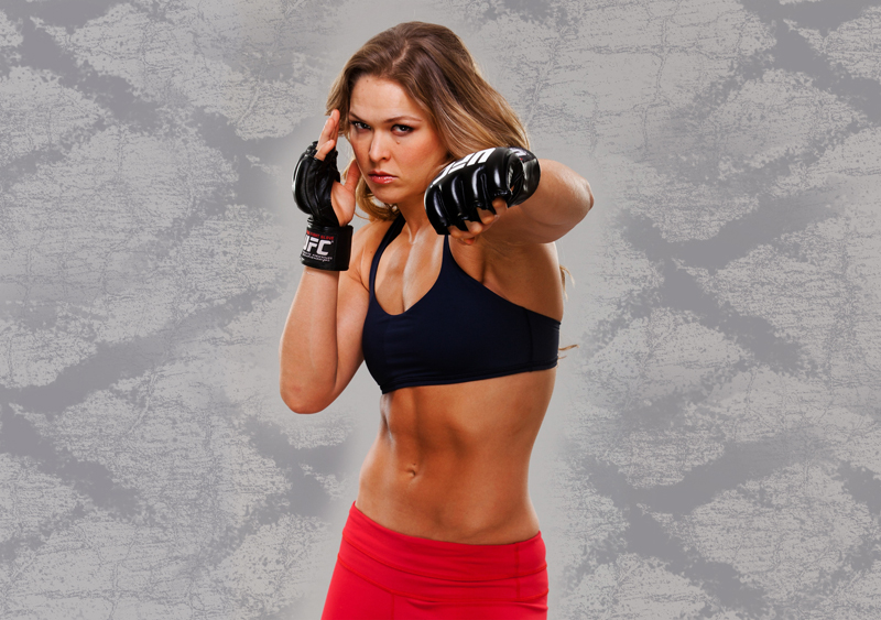 Ronda Rousey Workout Routine