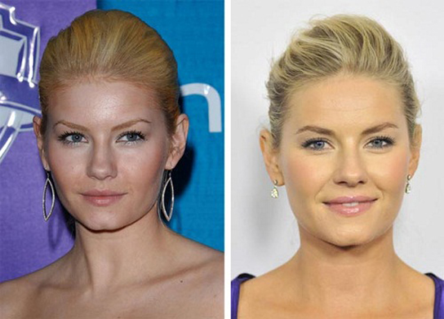 Elisha Cuthbert Nose Job Plastic Surgery Before and After