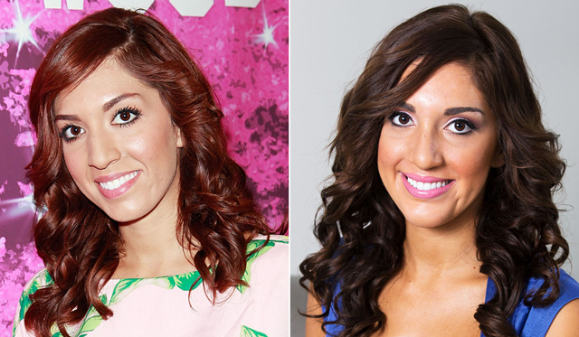 Farrah Abraham Nose Job Plastic Surgery Before and After