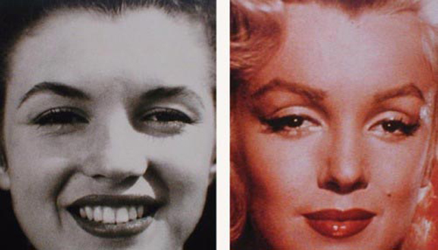 Marilyn Monroe Nose Job Plastic Surgery Before and After
