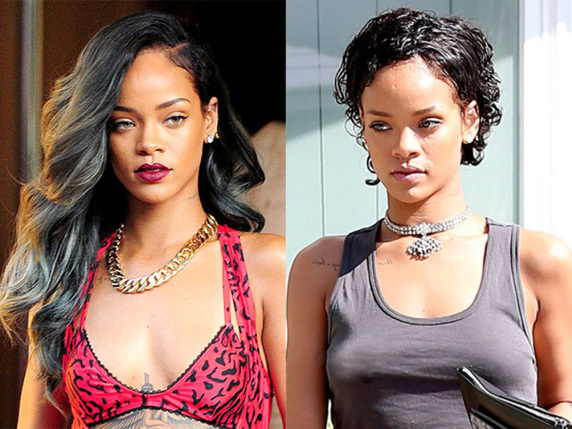 Rihanna Breast Implants Plastic Surgery Before and After