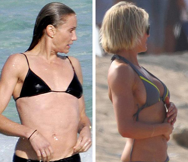 Cameron Diaz Breast Implants Plastic Surgery Before and After