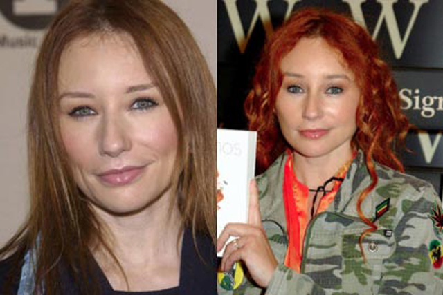 Tori Amos Nose Job Plastic Surgery Before and After