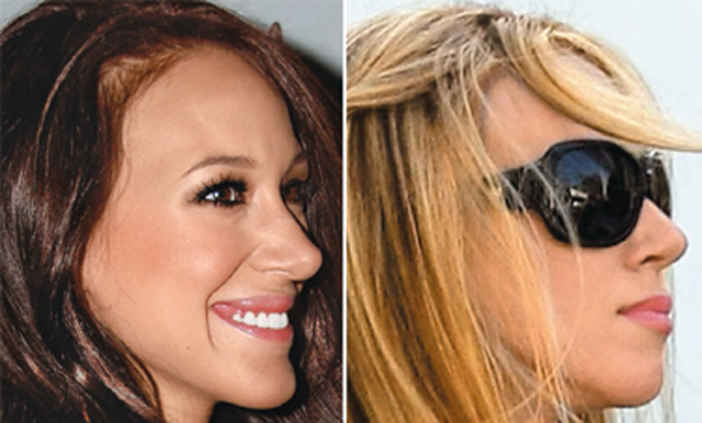 Haylie Duff Nose Job Plastic Surgery Before and After