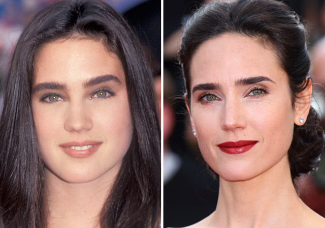 Jennifer Connelly Nose Job Plastic Surgery Before and After