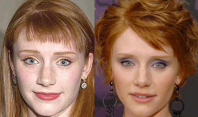 Bryce Dallas Howard Nose Job Plastic Surgery Before and After