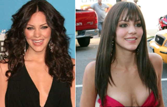 Katharine McPhee Breast Augmentation Plastic Surgery Before and After