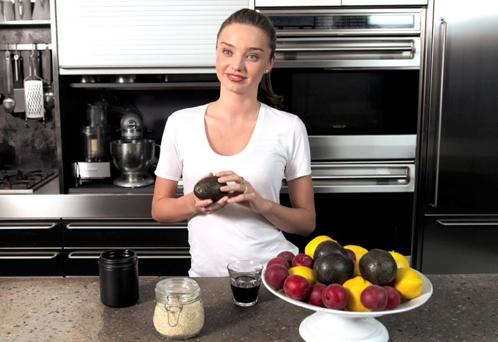 Miranda Kerr Diet Plan