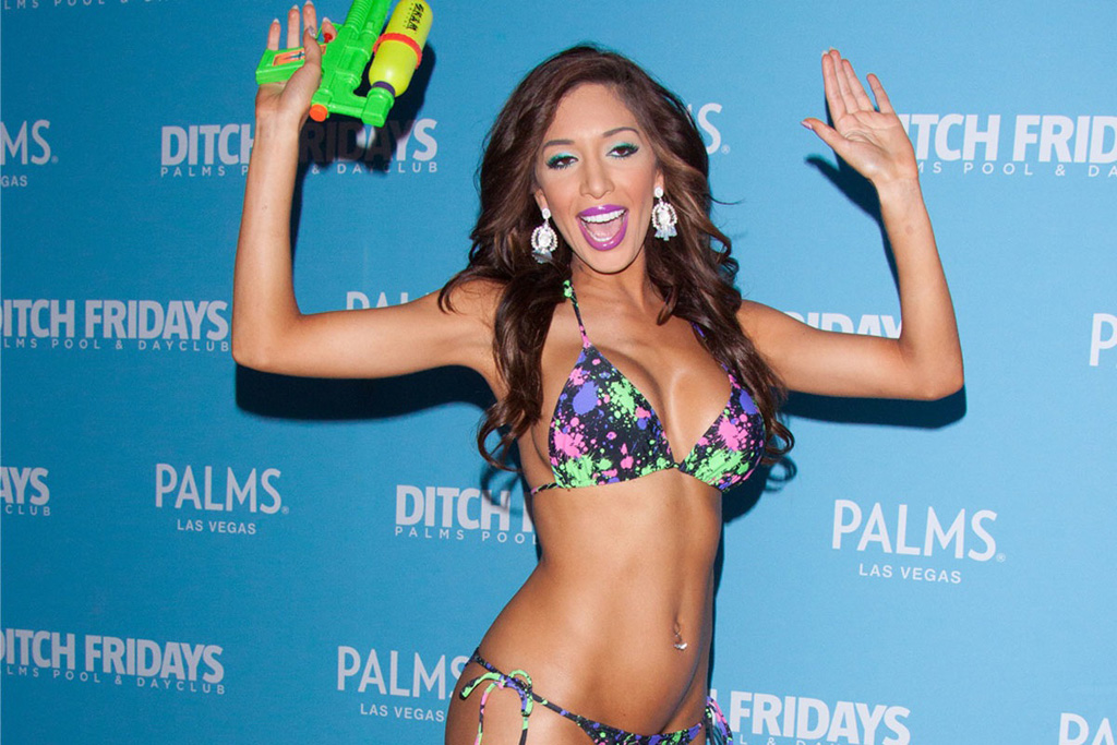 Farrah Abraham Workout Routine