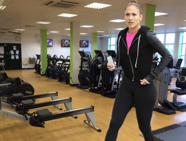 Jennifer Lopez Workout Routine